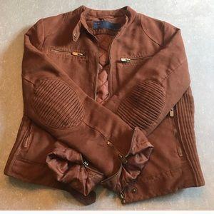 Suede Zara jacket